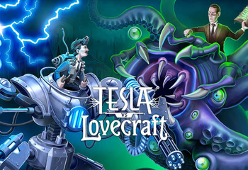 Tesla vs Lovecraft-Bild