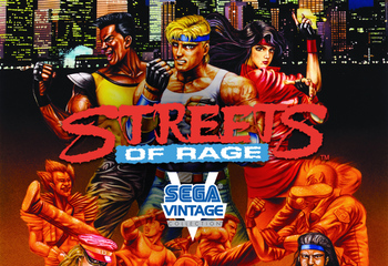 Sega Vintage Collection: Streets of Rage-Bild