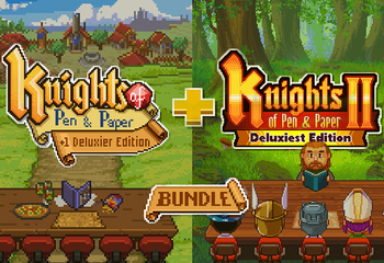 Knights of Pen and Paper Bundle-Bild