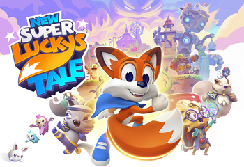 New Super Lucky's Tale-Bild