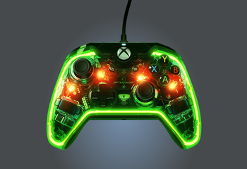 PDP Afterglow Prismatic Wired Xbox One Controller-Bild