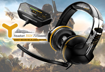 Thrustmaster Headset Y350X 7.1 Powered Ghost Recon Wildlands Edition-Bild