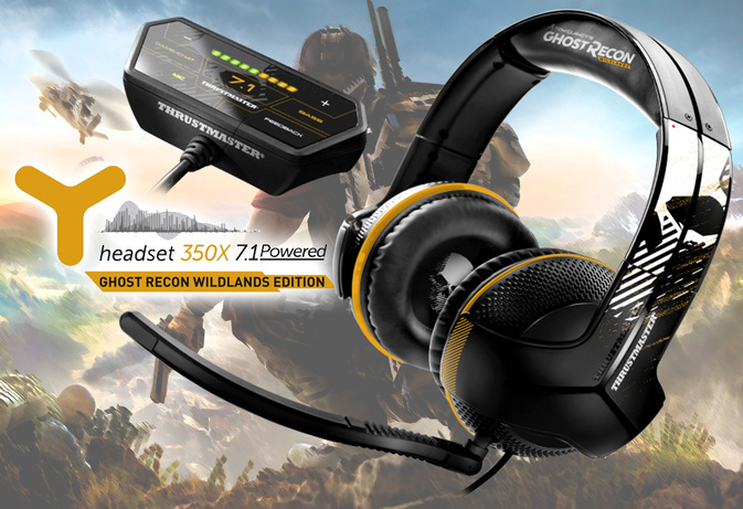 Thrustmaster Headset Y350X 7.1 Powered Ghost Recon Wildlands Edition